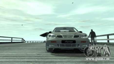 Daewoo Leganza für GTA 4 Rückansicht
