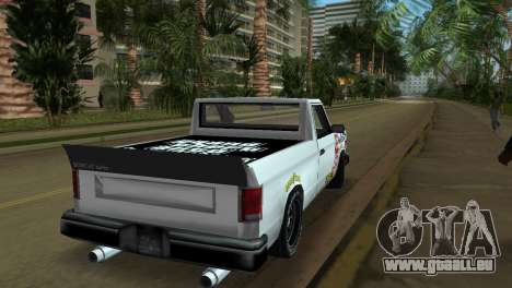 Bobcat Turbo für GTA Vice City Innenansicht