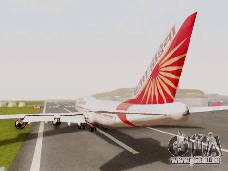 Boeing 747 Air India pour GTA San Andreas vue arrière