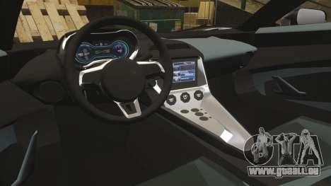 Jaguar C-X75 [EPM] Carbon Series für GTA 4 Seitenansicht