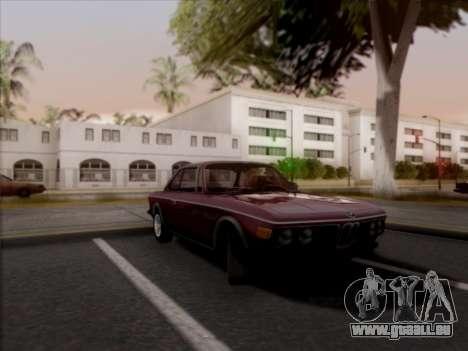 BMW 3.0 CSL 1971 für GTA San Andreas zurück linke Ansicht