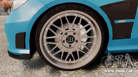 Mercedes-Benz B63 S Brabus pour GTA 4 Vue arrière