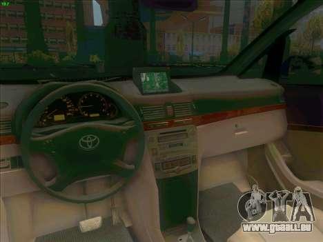 Toyota Alphard pour GTA San Andreas vue arrière