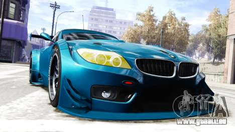 BMW Z4 GT3 2012 für GTA 4 rechte Ansicht