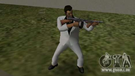 Le Costume Blanc GTA Vice City pour la troisième écran