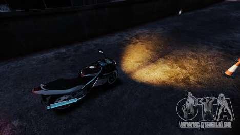 La lumière Orange pour GTA 4 secondes d'écran