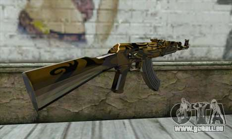AK47 pour GTA San Andreas deuxième écran