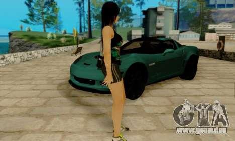Kokoro A7X pour GTA San Andreas troisième écran