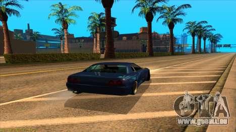Elegy 4xget pour GTA San Andreas laissé vue