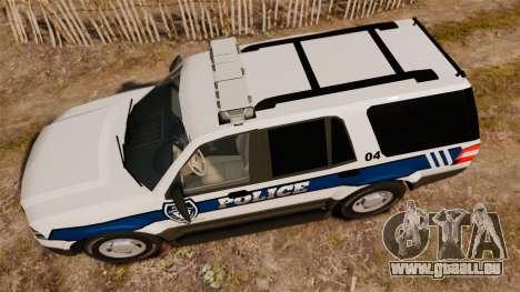 Ford Expedition LCPD SSV v2.5F [ELS] pour GTA 4 est un droit