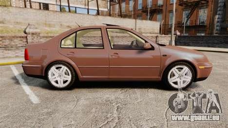 Volkswagen Bora 1.8T Camel pour GTA 4 est une gauche