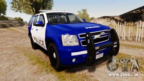 Chevrolet Tahoe 2008 LCPD [ELS] pour GTA 4