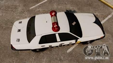 Ford Crown Victoria Japanese Police [ELS] pour GTA 4 est un droit