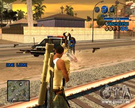C-HUD Minimal für GTA San Andreas zweiten Screenshot