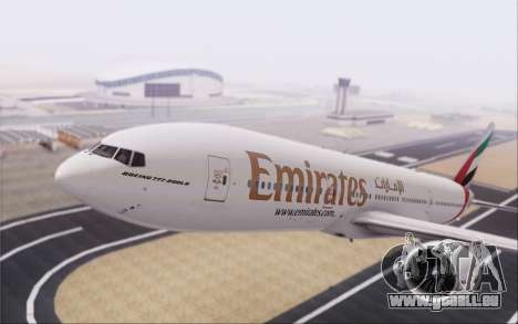 Emirates Airlines 777-200 für GTA San Andreas