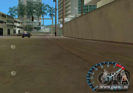 Der Tacho aus NFS Underground für GTA Vice City fünften Screenshot