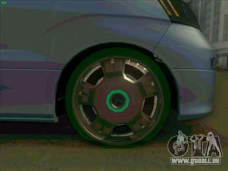 Toyota Alphard pour GTA San Andreas vue de côté