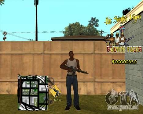 C-HUD LSVG pour GTA San Andreas deuxième écran