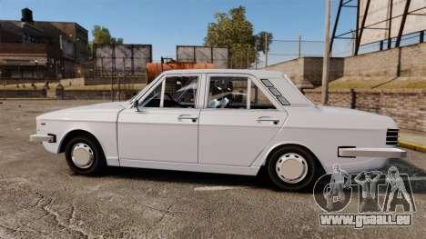 IKCO Paykan 1970 pour GTA 4 est une gauche