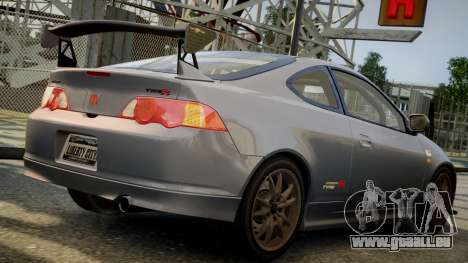 Honda Mugen Integra Type-R 2002 pour GTA 4 est une gauche