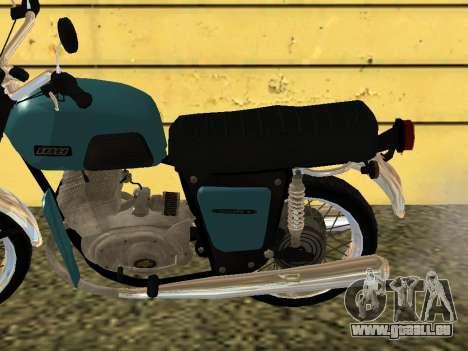 IZH Jupiter 4 pour GTA San Andreas sur la vue arrière gauche