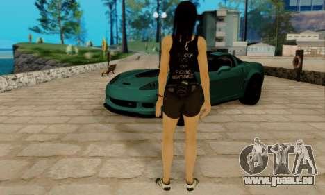 Kokoro A7X pour GTA San Andreas cinquième écran