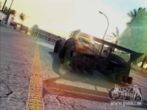 Pagani Zonda R 2009 für GTA San Andreas rechten Ansicht