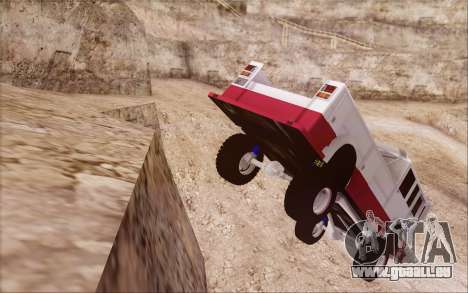 Offroad Firetruck pour GTA San Andreas