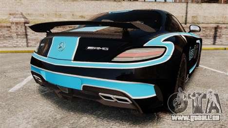 Mercedes-Benz SLS 2014 AMG Black Series Area 27 für GTA 4 hinten links Ansicht
