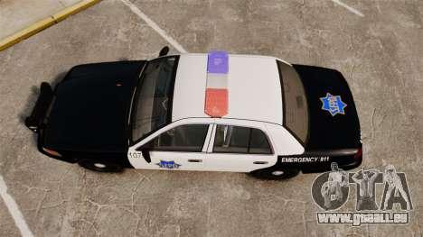 Ford Crown Victoria San Francisco Police [ELS] pour GTA 4 est un droit