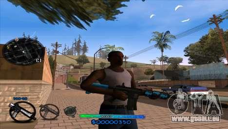 C-HUD Slow für GTA San Andreas