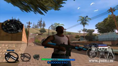 C-HUD Slow pour GTA San Andreas