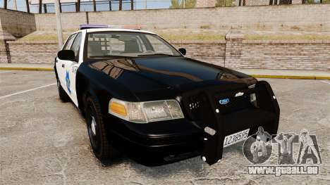 Ford Crown Victoria San Francisco Police [ELS] für GTA 4