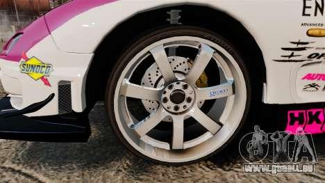Mazda RX-7 D1 EXEDY pour GTA 4 Vue arrière