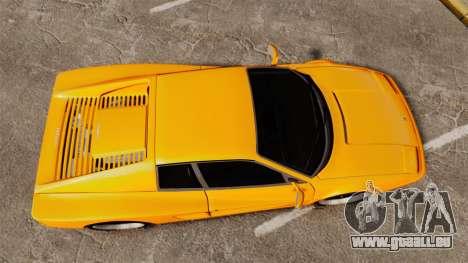 Ferrari Testarossa 512 TR v2.0 pour GTA 4 est un droit