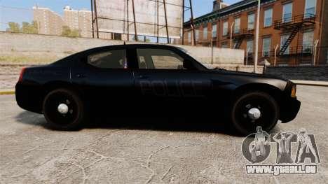 Dodge Charger Slicktop Police [ELS] pour GTA 4 est une gauche