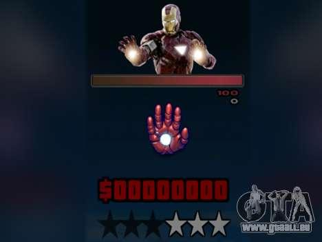 C-HUD Iron Man pour GTA San Andreas