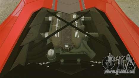 Lamborghini Aventador LP700-4 2012 [EPM] pour GTA 4 est une vue de l'intérieur