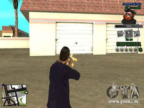 C-HUD by Misterio pour GTA San Andreas