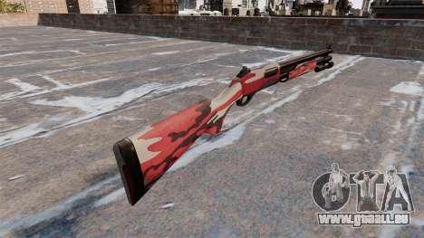 Fusil à pompe Remington 870 Wingmaster pour GTA 4 secondes d'écran