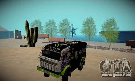 Piste off-road pour GTA San Andreas troisième écran