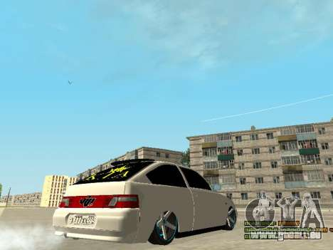 VAZ 21123 pour GTA San Andreas vue de droite