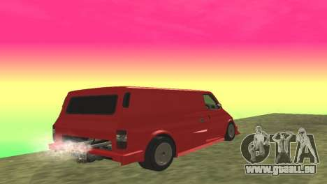 Ford Transit Supervan 3 Custom für GTA San Andreas rechten Ansicht
