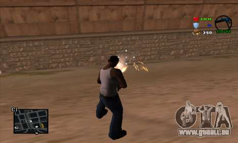 C-HUD Lite pour GTA San Andreas troisième écran