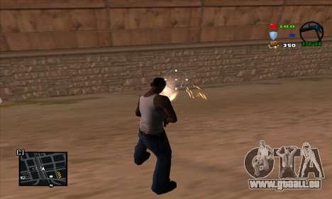 C-HUD Lite für GTA San Andreas dritten Screenshot