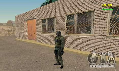 Кестрел Splinter Cell Conviction pour GTA San Andreas quatrième écran