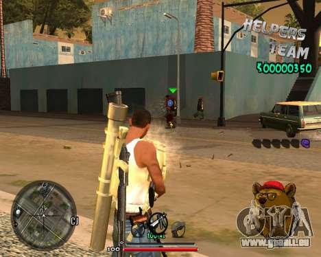 C-HUD Bear für GTA San Andreas