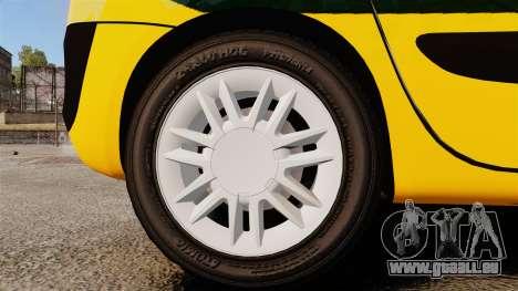 Renault Espace Police Nationale [ELS] für GTA 4 Rückansicht