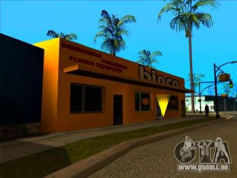 Die neue textur speichern Binco in LS für GTA San Andreas her Screenshot