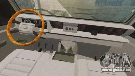 Land Rover Defender AFA [ELS] pour GTA 4 Vue arrière